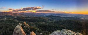 Steamboat Springs, CO mountain landscape